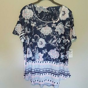 NEW Style&Co S/S Top
